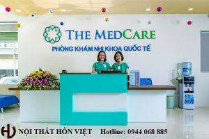 Thiết kế hệ thống phòng khám nhi The Medcera chi nhánh Mỗ Lao, Hà Nội 1