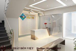 Thiết kế nội thất phòng khám đa khoa Bảo An