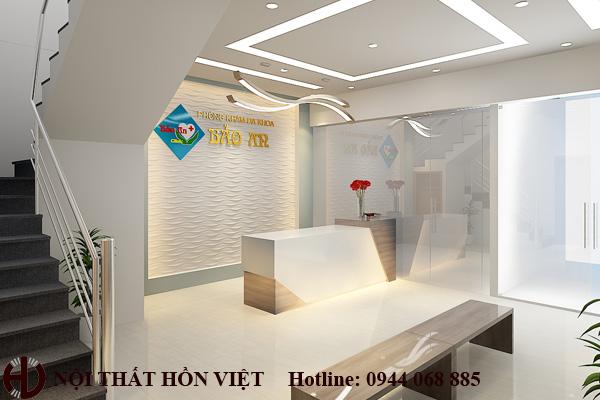 Thiết kế nội thất phòng khám Bảo An