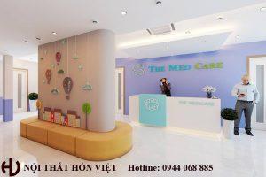 Thiết kế hệ thống phòng khám nhi The Medcare chi nhánh Mỗ Lao, Hà Nội 2