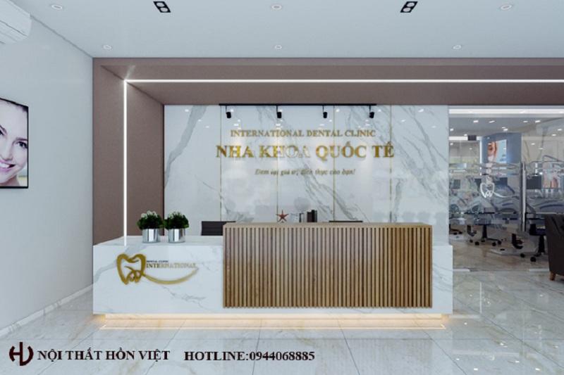 Thiết kế hệ thống phòng nha khoa Quốc Tế chi nhánh Lương Tài, Bắc Ninh
