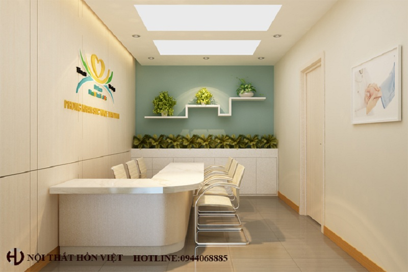 Thiết kế nội thất phòng khám chuyên khoa tâm thần Bs Dr Tuan