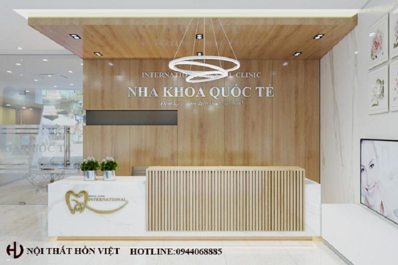Thiết kế hệ thống phòng khám nha khoa Quốc Tế chi nhánh Nguyễn Gia Thiều, TP Bắc Ninh