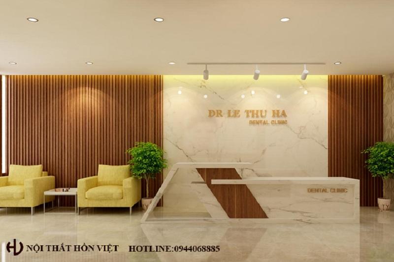 Thiết kế nội thất phòng khám nha khoa cao cấp ở Lò Đúc, Hà Nội