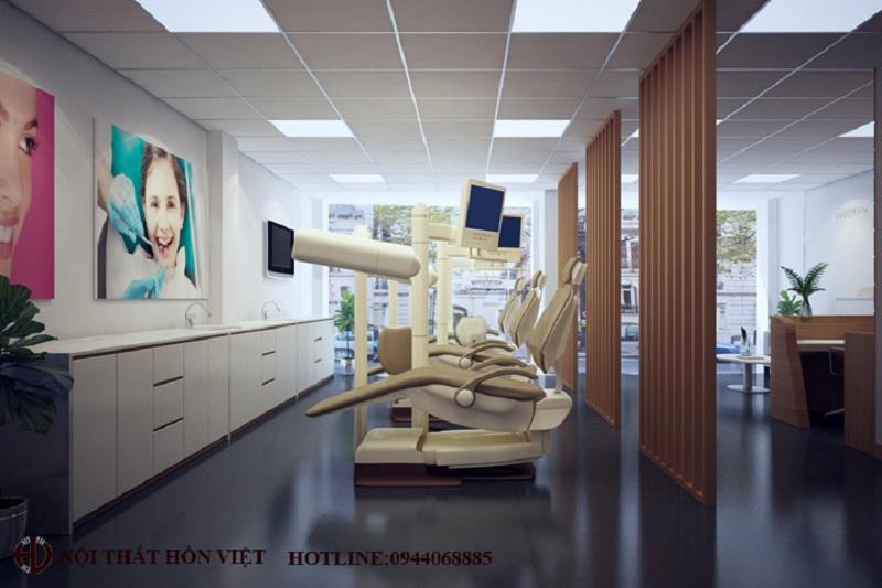 Mẫu thiết kế phòng khám nha khoa ở Đông Anh, Hà Nội