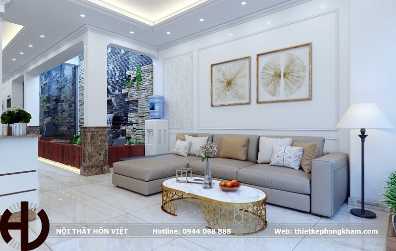 Thiết kế nội thất phòng khám nha khoa ở thành phố Vinh, Nghệ An