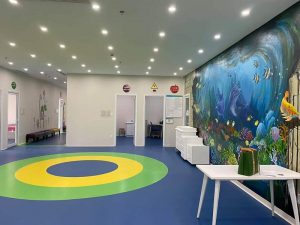 Hình ảnh thực tế hệ thống phòng khám nhi The Medcare chị nhánh Quảng Ninh