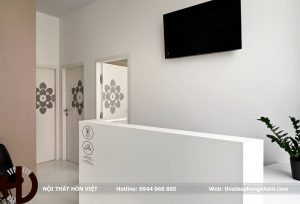 Thiết kế nội thất phòng khám da liễu trẻ trung