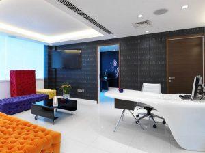 Thiết kế phòng khám mắt phù hợp với mọi đối tượng khách hàng