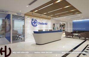 Thiết kế nội thất phòng khám Doctor4u ở Ba Đình, Hà Nội